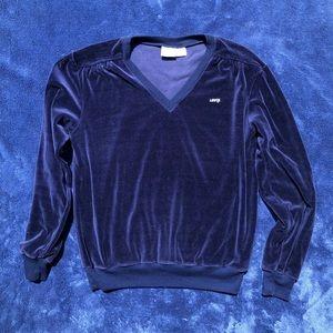 Vintage Levi's Velour Sweatshirt